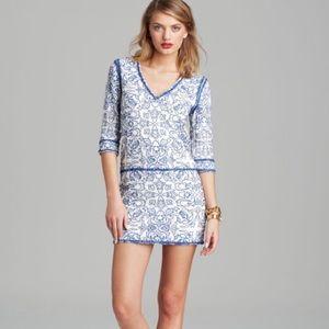 Dolce Vita Gallia embroidered tunic dress, size xs